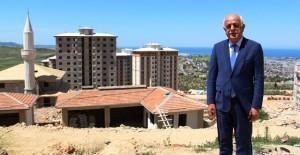 İskenderun Gültepe TOKİ evlerinin kaba inşaatı tamamlandı!