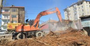Konya Ereğli kentsel dönüşüm alanında yıkımlar başladı!