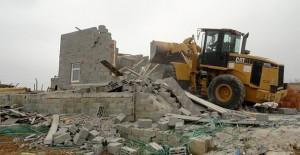 Meram Belediyesi kaçak yapıların yıkımına devam ediyor!