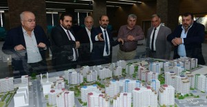 Başkan Edebali, iş insanlarına kentsel dönüşüm projelerini anlattı!