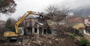 Bursa Osmangazi'de son 4 ay 72 metruk bina yıkıldı!