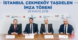 Dap Çekmeköy projesi için Emlak Konut ile imzalar atıldı!