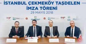 Emlak Konut Çekmeköy Taşdelen arazisi için DAP Yapı ile imza attı!