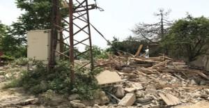 Gemlik Belediyesi metruk binaların yıkımını sürdürüyor!