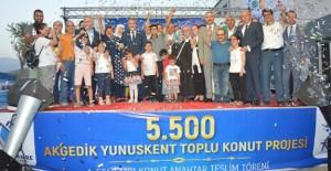 Akgedik Yunuskent TOKİ projesinin ilk etabında teslim süreci başladı!