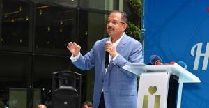 Bakan Özhaseki Üsküdar'da imar barışını anlattı!