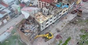 Erzurum Kevelciler kentsel dönüşüm projesi yıkımları başladı!