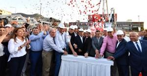 İzmir Fahrettin Altay Narlıdere metro hattının temeli atıldı!