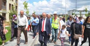 Kayseri Bünyan TOKİ Evleri'nde hak sahipleri evlerini gezdi!