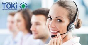 TOKİ müşteri hizmetleri telefon!