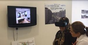 Belediye Evleri Mahallesi kentsel dönüşüm projesi sanal gerçeklik gözlükleri ile tanıtılıyor!