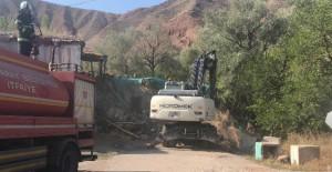 Aksaray Belediyesi kaçak yapıların yıkımını sürdürüyor!