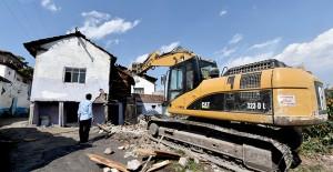 Altındağ Atıfbey mahallesi kentsel dönüşüm kapsamında metruk yapılar yıkılıyor!