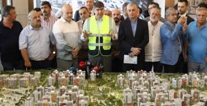 Başkan Türel, Sur Yapı Antalya projesini ziyaret etti!