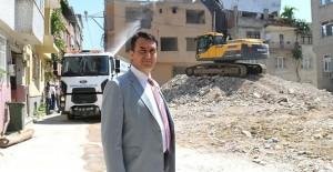 Soğanlı kentsel dönüşüm kapsamında 55 bina yıkıldı!