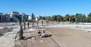Antalya Millet Bahçesi projesinde peyzaj çalışmaları hızla devam ediyor!