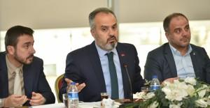 Başkan Alinur Aktaş, Bursa'da kentsel dönüşümün durumunu değerlendirdi!