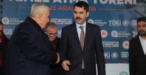 'Antalya Turizm TOKİ Evleri'nde konut sayısı ilerleyen yıllarda artacak'!