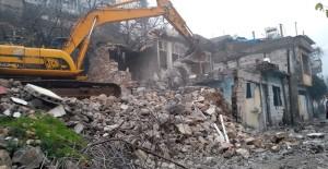 Kahramanmaraş Tekke kentsel dönüşüm projesi kapsamında 160 ev yıkıldı!