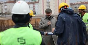 Kayseri Yunusemre kentsel dönüşüm projesinde çalışmalar aralıksız sürüyor!