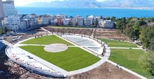 Antalya Millet Bahçesi Projesi'nde sona yaklaşıldı!