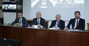 TOKİ Başkanı Ömer Bulut yüklenici firma temsilcileriyle görüştü!
