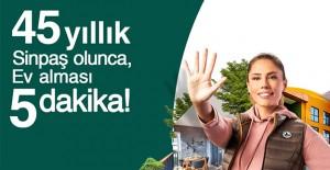 Sinpaş'tan 'Evinizi 5 dakikada alın' kampanyası!