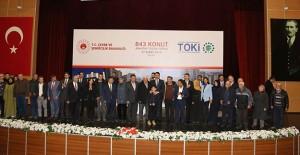 Sivas'ta TOKİ tarafından 843 konutun anahtarları teslim edildi!