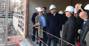 TOKİ Başkanı Ömer Bulut, İstanbul şantiyelerini inceledi!