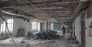Bursa Tower Plaza'da yıkım başladı!