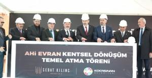 Kocasinan Belediyesi Ahi Evran kentsel dönüşüm projesinin temeli atıldı!