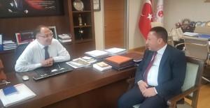 Başkan Beyoğlu, Bağlar kentsel dönüşüm projesi için Ankara'da görüşme yaptı!
