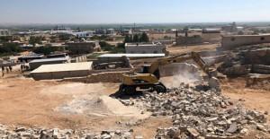 Büyük Hancağız Mahallesi kentsel dönüşüm kapsamında kaçak yapılar yıkıldı!