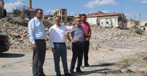Hacılar kentsel dönüşüm 2. etap kapsamında yıkımlar tamamlandı!