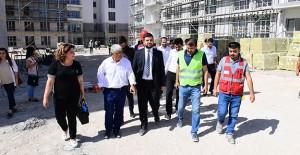 Malatya Yeşiltepe kentsel dönüşüm projesinde binalar hızla yükseliyor!