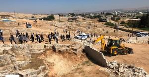 Şanlıurfa Eyyübiye'de kentsel dönüşüm kapsamında gecekondular yıkıldı!