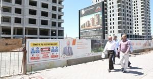 Kocasinan Yunusemre kentsel dönüşüm projesi kaba inşaatında sona gelindi!