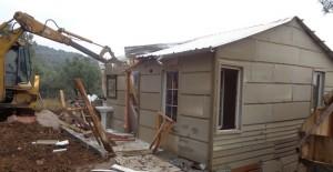 Bursa Osmangazi'de kaçak barakalar yıkıldı!
