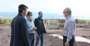 Başkan Zeki Aygün, Yenikent Mahallesi Araptepe kentsel dönüşüm projesini inceledi!