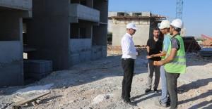 Şanlıurfa Eyyübiye kentsel dönüşüm projesinde binalar yükseliyor!