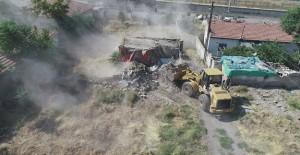 Kocasinan Yunusemre kentsel dönüşüm projesinde yıkımlar devam ediyor!