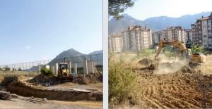 Seydişehir Millet Bahçesi'nde çalışmalar başladı!