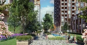 Bahçeşehir Strada projesinin 1. etabında yaşam başladı!