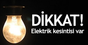 Bursa elektrik kesintisi 5 Ekim 2020!