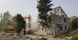 Gölcük Denizevler kentsel dönüşüm alanındaki tüm binalar yıkıldı!