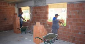 Odunpazarı Belediyesi metruk yapılarda başlattığı çalışmalara devam ediyor!