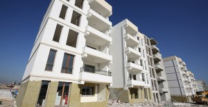 Eyyübiye Akçamesçit kentsel dönüşüm projesinde binalar yükseliyor!
