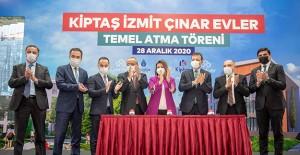 Kiptaş İzmit Çınar Evler projesinin temeli atıldı!