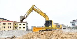 Yeşilyurt Turgut Özal Mahallesi kentsel dönüşüm projesinde yıkımlar devam ediyor!