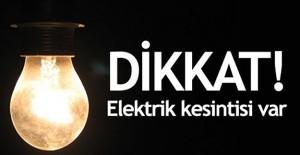 Çanakkale elektrik kesintisi 28 Şubat - 1 Mart 2021!
